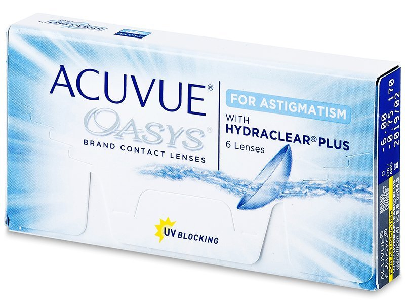 Acuvue Oasys for Astigmatism (6linser)