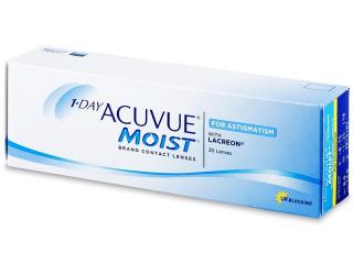 1 Day Acuvue Moist for Astigmatism (30linser) - Johnson och Johnson